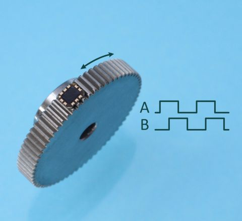 Inductive Gear Speed Sensor Chip ID4501G