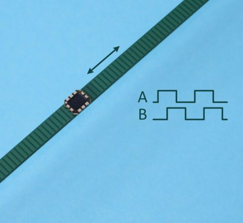 Linear Inductive Encoder Chip ID4501L