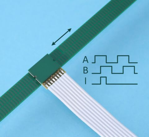 Inductive Linear Encoder IT3402 with scale
