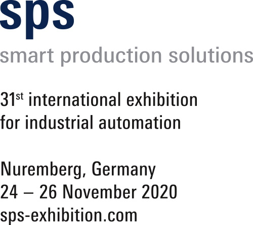 Logo for SPS Smart Production Solutions