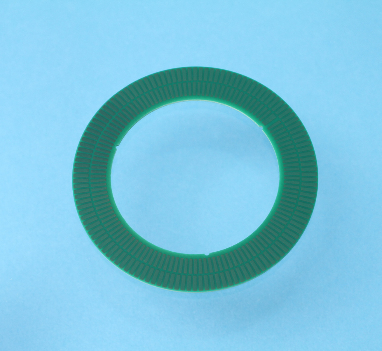 TPCD06 Encoderscheibe mit 128 Perioden, Innendurchmesser 36 mm und Aussendurchmesser 52.7 mm für Inkrementalgeber IT3402C, IT3403C und IT5602C