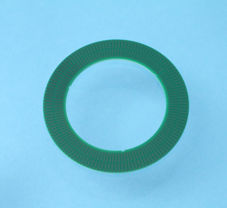 TPCS02 Encoderscheibe mit 128 Perioden, Innendurchmesser 36 mm und Aussendurchmesser 52.7 mm für Inkrementalgeber ID1102C und ID4501C