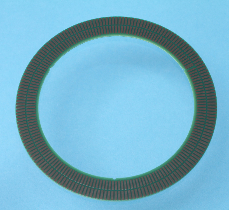 TPCS03 Disque à 180 périodes, diamètre intérieur 56 mm et extérieur 72.6 mm pour codeurs incrémentaux ID1102C et ID4501C