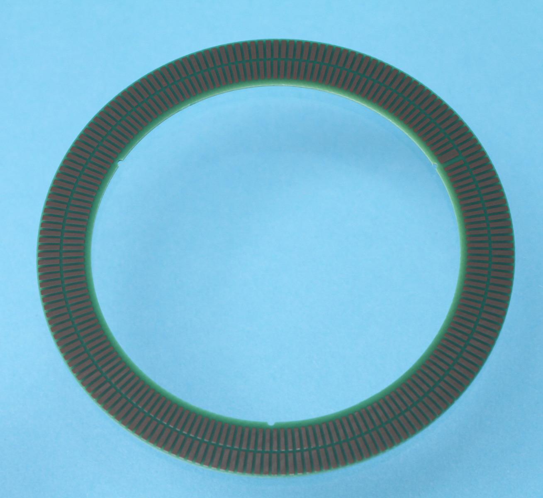 TPCS03 Encoderscheibe mit 180 Perioden, Innendurchmesser 56 mm und Aussendurchmesser 72.6 mm für Inkrementalgeber ID1102C und ID4501C