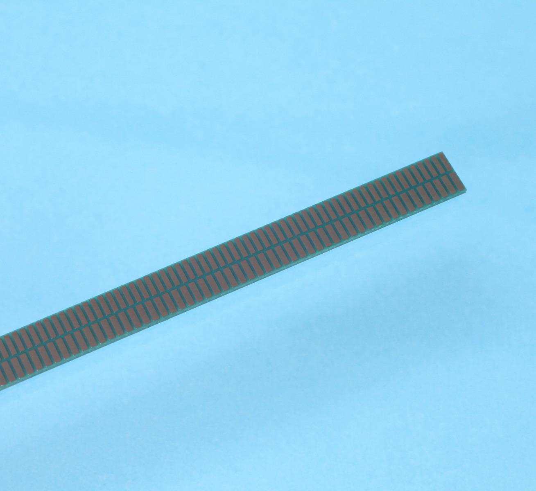 TPLA08 Linear Nonius Massstab mit Absolutverfahrweg 9.6 mm für Absolutgeber AP3403L und AP5603L