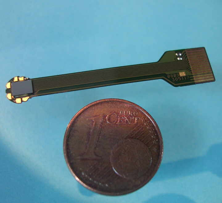 Codeur personnalisé monté sur un substrat flexible